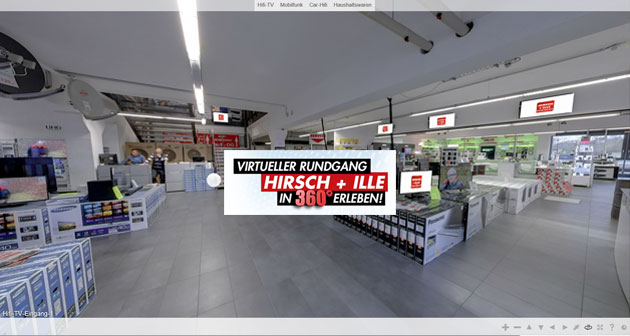 Virtuelle Tour Hirsch Ille Hifi Video TV Mobilfunk