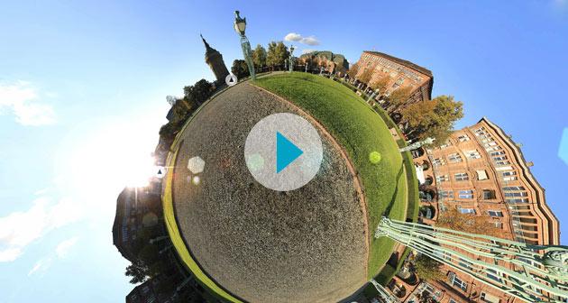 Virtuelle Tour Mannheim Rosengarten